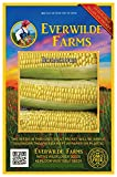 Everwilde Farms - 100 Bodacious Hybrid Sweet Corn Seeds - Gold Vault Jumbo