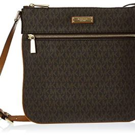 MICHAEL Michael Kors Large Flat Crossbody Brown One Size