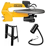 DEWALT DW788 1.3 Amp 20-Inch Variable-Speed Scroll Saw with Scroll-Saw Stand and Work Light