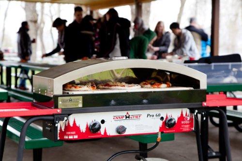 CAMP CHEF 14X32 Italia Artisan Outdoor Pizza Oven Accessory, Silver