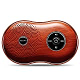 Zhao Li Speaker Wood Grain Bluetooth Speaker Mobile Phone Wireless Mini subwoofer Computer Small Audio car Outdoor Card Walkman Music Player Small Speaker Sound (Color : B)