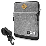 tomtoc 10.5-11 Inch Tablet Shoulder Bag for 11' New iPad Pro 2018 | 10.5' New iPad Air 2019 / iPad Pro | 9.7' iPad | 10' Microsoft Surface Go | Samsung Galaxy Tablet, Fit Apple Pencil & Smart Keyboard