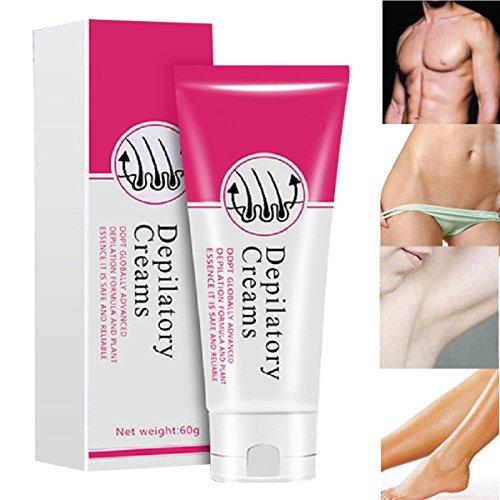Hair Removal Cream  Water Ice Levin Unisex Painless Depilatory Cream Legs Depilation Cream Armpit Hair Remove Cream 60g