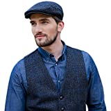Product review for Mucros Weavers Men's Tweed Vest - Police Blue