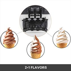 VEVOR-Commercial-Ice-Cream-Machine-53-to-74Gal-per-Hour-Soft-Serve-with-LED-Display-Auto-Clean-3-Flavors-Perfect-for-Restaurants-Snack-Bar-2200W-Silver