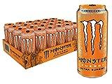 Monster Energy Ultra Sunrise, Sugar Free Energy Drink, 16 Ounce (Pack of 24)