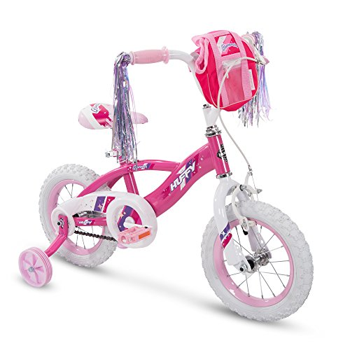 Huffy 12' Glimmer Girls Bike, Pink