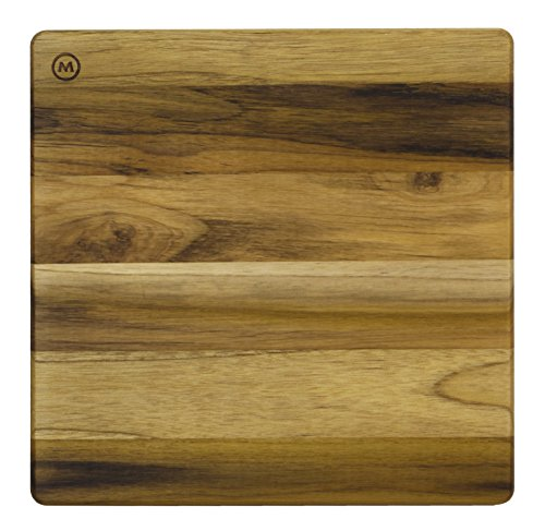 Madeira Mario Batali M-09 End Grain Teak Chop Block, Medium