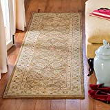 Safavieh Antiquities Collection AT822B Handmade Traditional Oriental Brown and Beige Wool Runner (2'3' x 8')