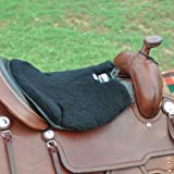 """Product review for Cashel Long Luxury Tush Cush Cushion Western Thick 1/2"""" or 3/4"""" Closed Cell Foam with Fleece Covering Color Tan or Black, Made in USA"""