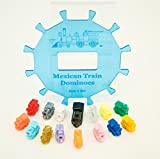 Mexican Train Center Piece With accessories, (up to 12 players)