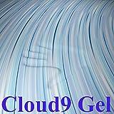 Cloud9 Gel Queen 3 Inch 100% Gel Infused Visco Elastic Memory Foam Mattress Topper