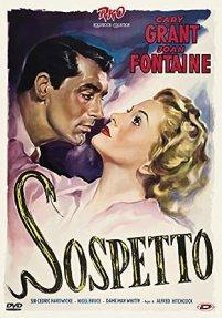 Locandina italiana di Il sospetto, di Alfred Hitchcock riproposta come poster del DVD Sony-RKO