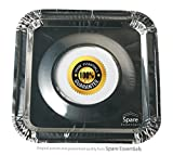 45PACK Aluminum Foil Square Stove Burner Covers Range Protectors Bib Liners Disposable Gas Burner Bibs Gas Top Liner Stove Easy Clean - (8.5' Square) from Spare