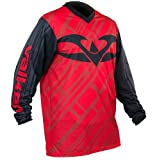 Valken Fate II Paintball Jersey - Black/Red - 3XL