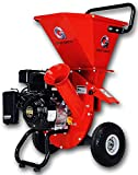 """GreatCircleUSA 7HP Heavy Duty 212cc Gas Powered 3:1 capable Multi-Function Wood Chipper Shredder 3"""" max Wood Diameter Capacity, 3 Years Warranty, CARB Certified, Ship to California(IMPROVED PACKAGING)"""