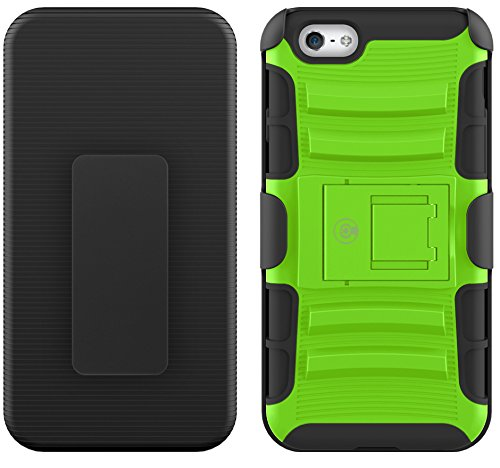 CABLE AND CASE iPhone 6s Case, [Blade Series] - Heavy Duty Protection from Drops and Falls - Also Compatible with Apple iPhone 6 [Green]