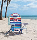 Tommy Bahama Backpack Beach Chair Multi Color Stripe Life Ring & Anchor Logo