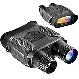 Digital Night Vision Binoculars 7x31mm-400m/1300ft Viewing Range and Super Large 4'' Viewing Screen Infrared Scope in Full Dark