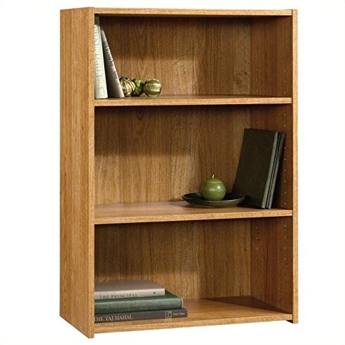 Sauder Beginnings 3-Shelf Bookcase, Highland Oak