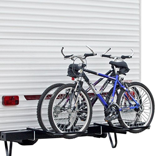 Rage Powersports BC2BM RV/Camper Trailer Bumper Bike Rack for 1-2 Bicycles
