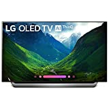 LG Series 8 OLED55C8AUA 55-Inch 4K Ultra HD Smart OLED TV (2018 Model)(Renewed)