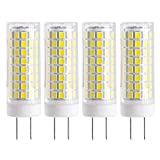 Click Image to Open expanded View New G8 LED Bulb, Dimmable 7W G8 Bulb, GY8.6 75W Halogen Bulb Replacement, 120V G8 75Watt 750 LM (White Color)