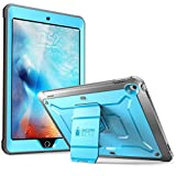 SUPCASE IPad 9.7 Case 2018 / 2017, Heavy Duty [Unicorn Beetle Pro Series] Full-body Rugged Protective Case with Built-In Screen Protector Dual Layer Design for IPad 9.7 Inch 2017 / 2018 (Blue)