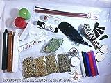 Beginner sample Witch Kit, Witchcraft supplies, Witchcraft for beginners, witchcraft candles, spell candles, wicca supplies, herb starter kit, wiccan altar supplies, witchcraft herbs