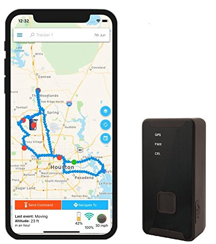 Best Car Trackers Reviews GPS Tracker - Optimus 2.0 - 4G LTE Tracking Device for Cars, Vehicles, People, Equipment