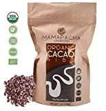 Raw Cacao Nibs Organic Unsweetened - Premium Peruvian Cacao nibs 1lb - From Aromatic and Criollo Cocoa Beans - USDA Certified Organic - Cacao nibs Vegan - Non GMO