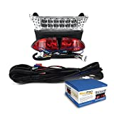 RecPro Club Car Precedent Electric Golf Cart ALL LED Light Kit w Bucket Harness 08.5-UP