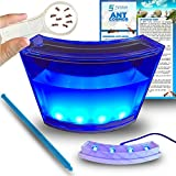 Amazing Ant Habitat W/ LED Light. Enjoy A Magnificent Habitat. Great For Kids & Adults. Evviva Ant Ecosystem W/ Enhanced Blue Gel. Educational & Learning Science Kit. Live Harvester Ants Not Included.