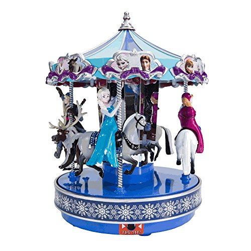 Disney's Frozen Animated Musical Carousel by Mr. Christmas Overstock Sale