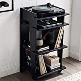 Crosley Soho Turntable and Record Stand, Black