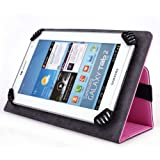 iNOVA EX756 7 Inch Tablet Case, UniGrip Edition - PINK - By Cush Cases