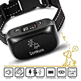 StopWoofer Humane Bark Collar | Dog bark Collar | Anti Barking Collar Small Dogs Medium Large Dogs | Rechargeable Anti bark Collar | No bark Collars Sound Warning Vibration Electric Stimulation