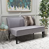 Product review for Charlotte Light Grey Fabric Love Seat