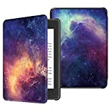 Fintie Slimshell Case for All-New Kindle Paperwhite (10th Generation, 2018 Release) - Premium Lightweight PU Leather Cover with Auto Sleep/Wake for Amazon Kindle Paperwhite E-Reader, Galaxy