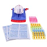 Flameer Desktop Bingo Lotto Game with Lottery Numbers Ball Lucky Number Picking Machine