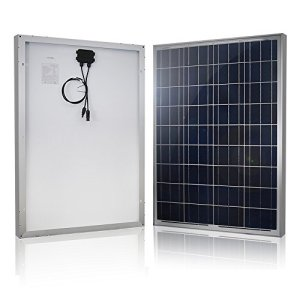 HQST 100 Watt 12 Volt Polycrystalline Solar Panel …
