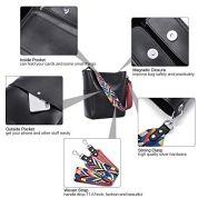 BROMEN-Women-Handbag-Designer-Vegan-Leather-Hobo-Handbags-Shoulder-Bucket-Cross-body-Purse