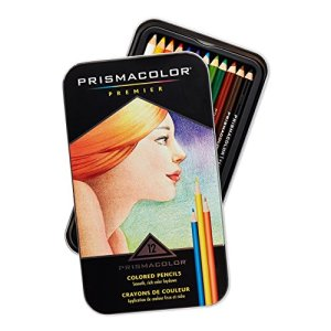 Prismacolor Premier Colored Woodcase Pencils colors and set