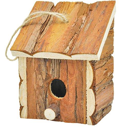 Gardirect-Wood-Decorative-Birdhouse-Hanging-Wooden-Garden-Bird-House