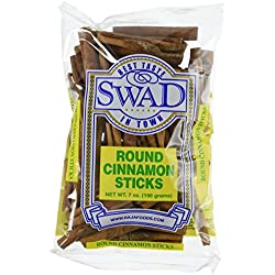 Great Bazaar Swad Round Cinnamon Stick, 7 Ounce
