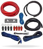 InstallGear 4 Gauge Complete Amp Kit Amplifier Installation Wiring Wire