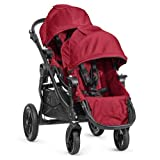Baby Jogger City Select Stroller with 2nd Seat, Red