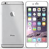 Apple iPhone 6 Plus, GSM Unlocked, 128GB - Silver (Renewed)