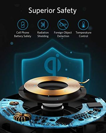 Anker-Wireless-Charger-PowerWave-Pad-Qi-Certified-10W-Max-for-iPhone-SE-2020-11-11-Pro-11-Pro-Max-Xs-Max-XR-XS-X-8-8-Plus-AirPods-Galaxy-S20-S10-S9-S8-Note-10-9-8-No-AC-Adapter