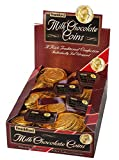 Frankford Candy Company Milk Chocolate Gold Coins Mesh Bag, Milk Chocolate, 1.23 Ounce (Pack of 12)